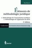 Paul Delnoy - Eléments de méthodologie juridique.