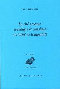 Rhonealpesinfo.fr La cité grecque archaïque et classique et l'idéal de tranquillité Image
