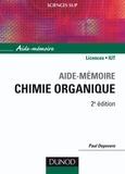 Paul Depovere - Aide-mémoire de chimie organique.