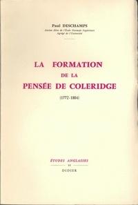 Paul Deschamps - La Formation de la pensée de Coleridge (1772-1804).