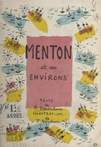 Paul Deverdun et J. Verdini - Menton et ses environs.