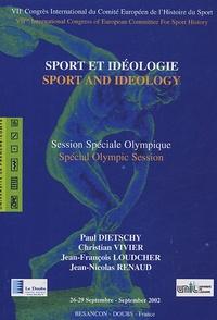 Paul Dietschy et Christian Vivier - Sport et idéologie - Session Spéciale Olympique.