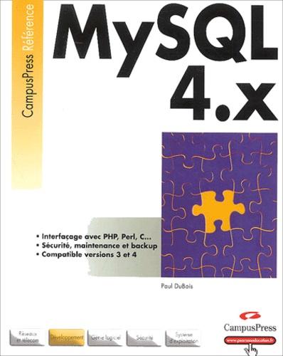 Paul Dubois - MySQL 4.X.