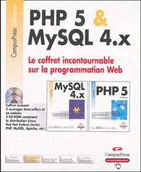 Paul Dubois et Leon Atkinson - Programmation Web Coffret 2 volumes : PHP 5 & MySQL 4.x. 2 Cédérom