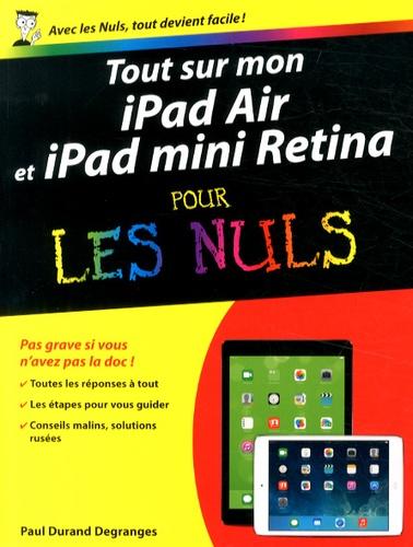 Tout sur mon iPad Air et iPad mini Retina pour les Nuls