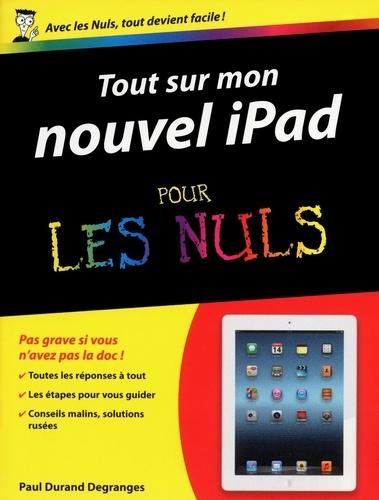 Tout sur mon nouvel iPad pour les nuls