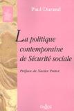 Paul Durand - Politique contemporaine de Sécurité sociale.