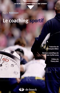 Paul E. Robinson - Le coaching sportif.