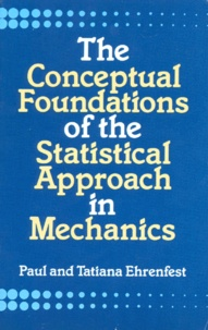 Deedr.fr THE CONCEPTUAL FOUNDATIONS OF THE STATISTICAL APPROACH IN MECHANICS Image