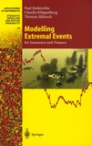 Paul Embrechts et Claudia Küppelberg - Modelling Extremal Events - For Insurance and Finance.