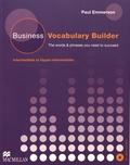 Paul Emmerson - Business Vocabulary Builder - Intermediate to Upper-intermediate. 1 CD audio