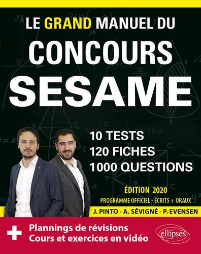 Le grand manuel du concours SESAME. 10 tests, 120 fiches, 1000 questions  Edition 2020
