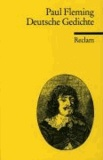 Volker Meid et Paul Fleming - Deutsche Gedichte.