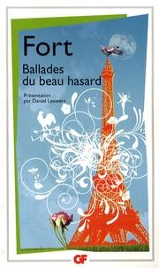 Ucareoutplacement.be Ballades du beau hasard - Poèmes inédits et autres poèmes Image