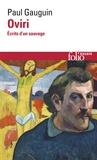 Paul Gauguin - Oviri - Ecrits d'un sauvage.