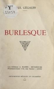 Paul Gégauff - Burlesque.