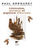 Paul Géroudet et Georges Olioso - Limicoles, gangas, pigeons d'Europe.