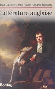 Paul Ginestier et John Hoyles - Littérature anglaise.
