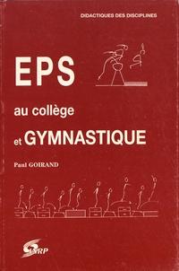 Paul Goirand - EPS au collège et gymnastique.