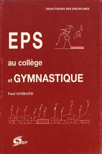 EPS au collège et gymnastique