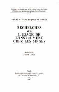 Lesmouchescestlouche.fr Recherches sur l'usage de l'instrument chez les singes Image
