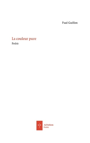 Paul Guillon - La couleur pure.