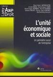 Paul-Henri Antonmattei et André Derue - L'unité économique et sociale - Un périmètre social de l'entreprise.