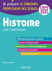 Paul-Henri Garcia - Histoire - Professeur des écoles - Oral / admission - CRPE 2020-2021.