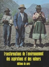 Paul-Henry Chombart de Lauwe - Transformations de l'environnement, des aspirations et des valeurs.
