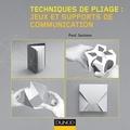 Paul Jackson - Jeux et supports de communication - Supports promotionnels : 49 maquettes à plier (dépliants, enveloppes, flexagones, boîtes à énigmes et autres objets interactifs).