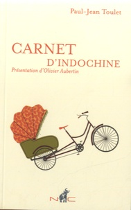 Paul-Jean Toulet - Carnet d'Indochine.