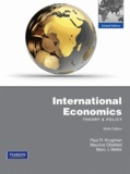 Paul Krugman et Maurice Obstfeld - International Economics - Theory & Policy.