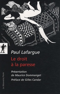 """Paul Lafargue - Le droit à la paresse - Réfutation du """"droit au travail"""" de 1848."""