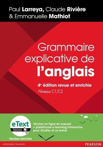 Grammaire Explicative De L Anglais Niveau C1 C2 Avec Une Version En Ligne Et Une Plateforme E Learning Interactive