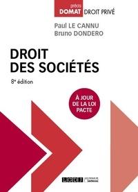 Paul Le Cannu et Bruno Dondero - Droit des sociétés.