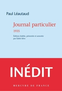 Paul Léautaud - Journal particulier 1935.