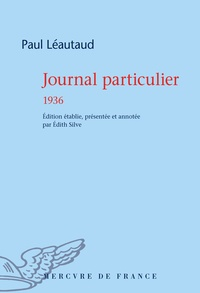 Paul Léautaud - Journal particulier 1936.