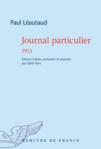 Paul Léautaud - Journal particulier - 1933.