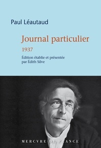 Paul Léautaud - Journal particulier - 1937.