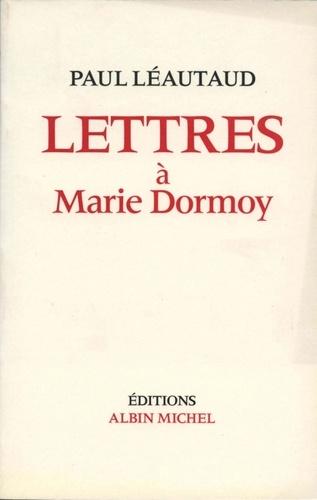 Lettres à Marie Dormoy Pdf