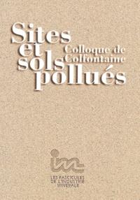 Paul Lecomte et Henri-Charles Dubourguier - Sites et sols pollués - Colloque de Colfontaine.