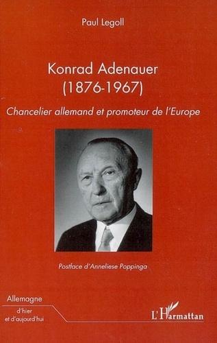 Konrad Adenauer (1876-1967) - Paul Legoll - Format PDF - 9782296170216 - 20,99 €