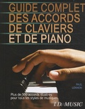 Paul Lennon - Guide complet des accords de claviers et de piano.