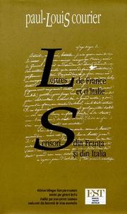Lettres de France et dItalie - Edtion bilingue français-roumain.pdf