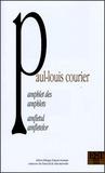 Paul-Louis Courier - Pamphlet des pamphlets suivi de la Pétition pour des villageois que l'on empêche de danser - Edition bilingue français-roumain.
