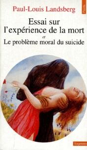 Essai sur lexpérience de la mort. et Le problème moral du suicide.pdf