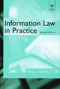 Paul Marett - Information Law in Practice.