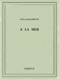 Paul Margueritte - À la mer.