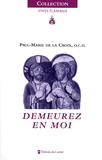 Paul-Marie de La Croix - Demeurez en moi.