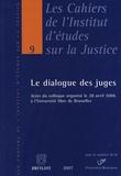 Paul Martens et Ludovic Hennebel - Le dialogue des juges.